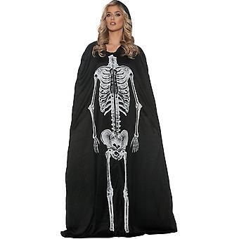 Skeleton Cape Adult