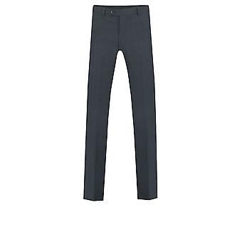 Dobell Boys Marine Suit broek Fit Regular Windowpane Check