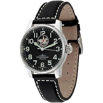 Zeno-watch mens watch of classic open heart 6554U-a1