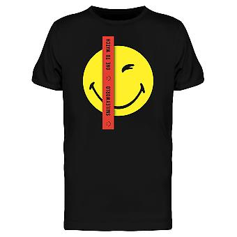 SmileyWorld One To Watch Wink Face Men's T-shirt