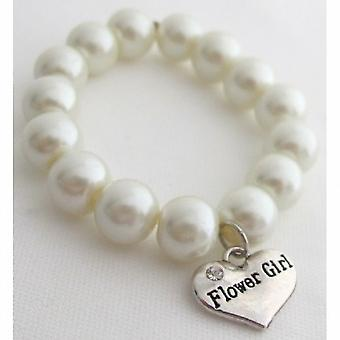 Matron Of Honor Maid Of Honor Flower Girl Bracelet