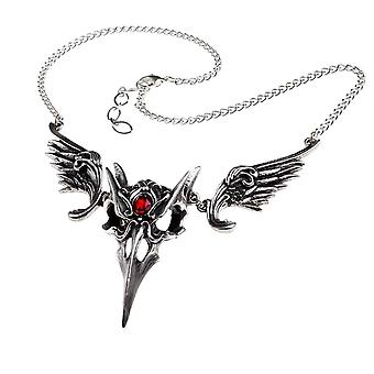 Alchemy Gothic Masque Of The Black Rose Pewter Pendant