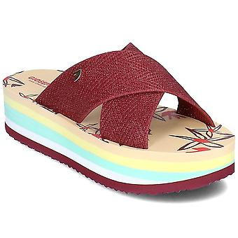 Gioseppo Akron AKRON48077BURGUNDY universal summer women shoes
