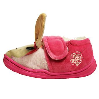 Peter Rabbit Girls Lily Bobtail Touch & Close Full Slippers