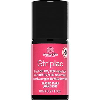 StripLAC Peel Off UV LED Classic Stars Nail Polish Collection - Juan's Kiss 8ml (909)