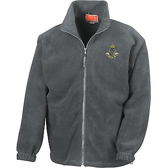 8th Kings Royal Irish Hussars-licenseret britisk hær broderet Heavyweight fleece jakke