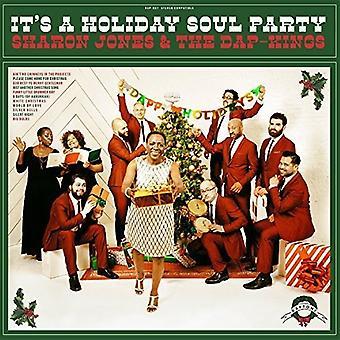 Sharon Jones & the Dap-Kings - Its a Holiday Soul Party [Vinyl] USA import