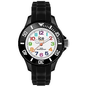 Ice-mini Quartz Analog Child Watch avec bracelet Silicone MN. Bk. M.S.12 (en)