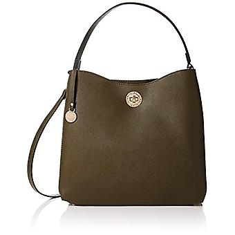 L.Credi 2416 Green Woman Shoulder Bag (Green (khaki 010)) 15x28x30 cm (B x H x T)