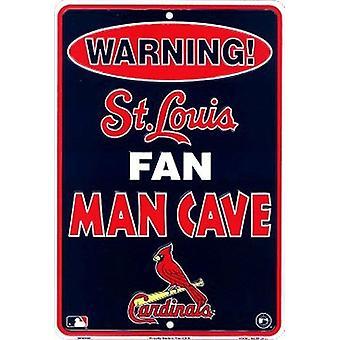 St. Louis Cardinals MLB Fan Man Cave Parking Sign