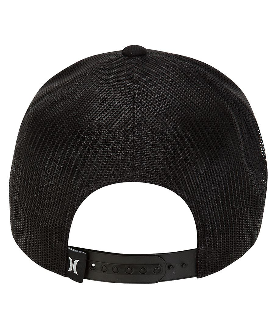 Hurley Men's Snapback Trucker Cap ~ Dri Fit Gradient One and Only black