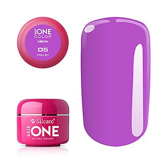 Base one-Neon-Violet 5g UV gel