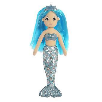 Aurora World 33212 Sea Shimmers Sapphire La Sirène (Moyen)
