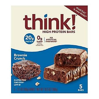 Denk dat dunne High Protein Bars Brownie Crunch