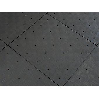 Kunststoffboden PRO 9 m², Anthrazit