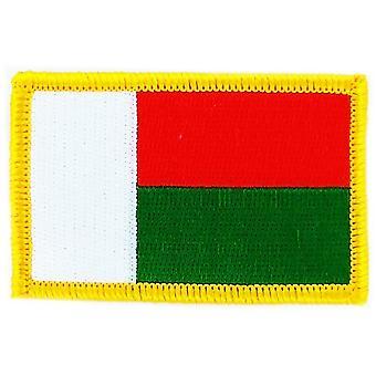 التصحيح Ecusson برود العلم مدغشقر الشارة الحرارية بلاسون