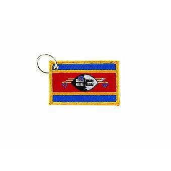 Cle Cles Key Brode Parche Ecusson Insignia Bandera de Swazilandia