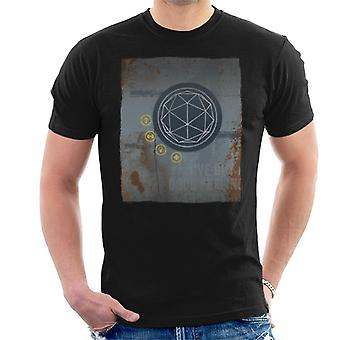The Crystal Maze Rust Panel Men's T-Shirt