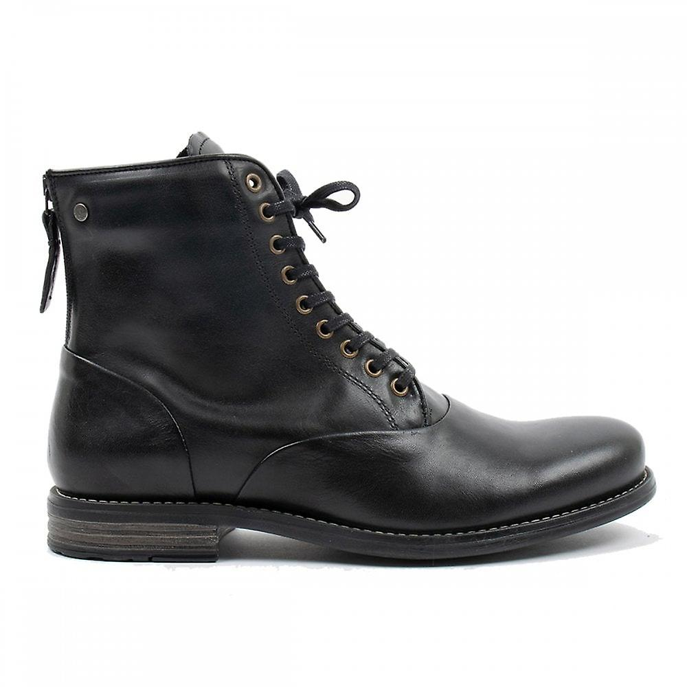 Sneaky Steve Delerius Leather Hi Boots