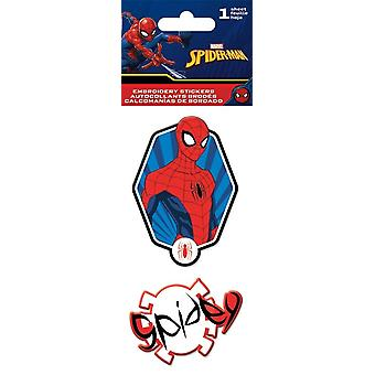 Embroidered Stickers - Spiderman - Stationery New st3052
