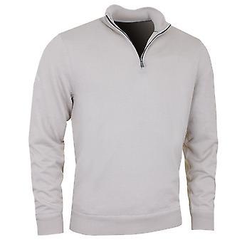 Callaway Golf Mens 1/4 Zip Mock Merino Windproof Sweater Pullover
