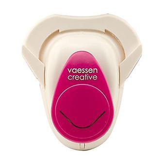 Vaessen Creative Craft Punch - Corner Ornament Round