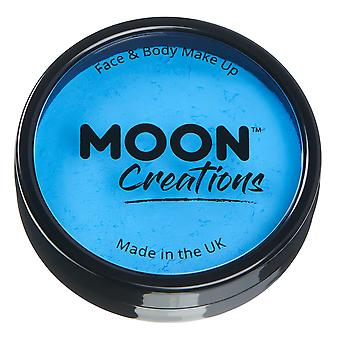 Moon Creations - Pro Face & Body Paint Cake Pots - Sky Blue