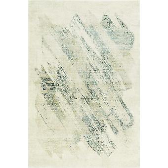 2' x 7' Runner Polypropylene Ivory or Grey Area Rug