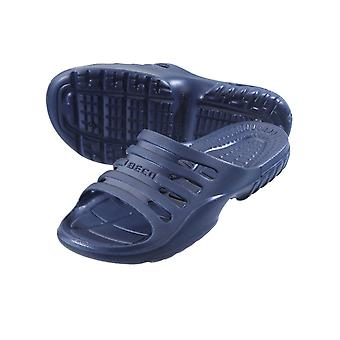 BECO Navy Pool/Sauna Slippers for Men-44 (EUR)