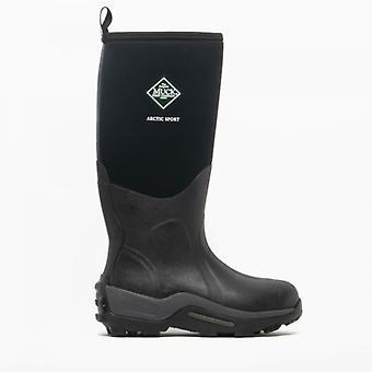 Muck Boots Arctic Sport Unisex Rubber Wellington Boots Black