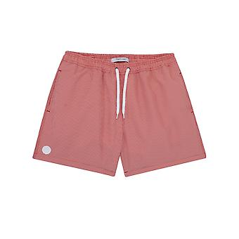 Short de bain Transat Square 23 Rouge