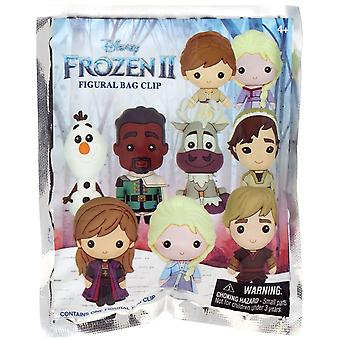 Frozen 2 3D Collectable Keychain - One Supplied At Random