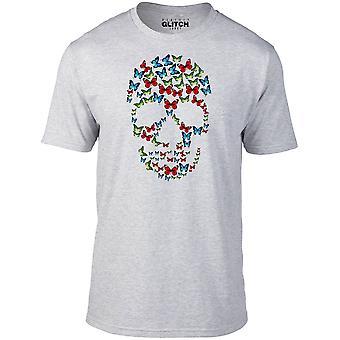 Män ' s Butterfly skull t-shirt