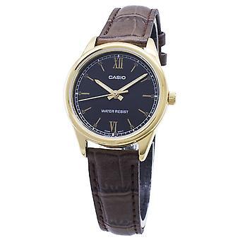 Casio Quarz LTP-V005GL-1B2 LTPV005GL-1B2 Analog Damen's Uhr