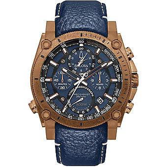 Bulova Precisionist Chronograph Mens Watch 97B186