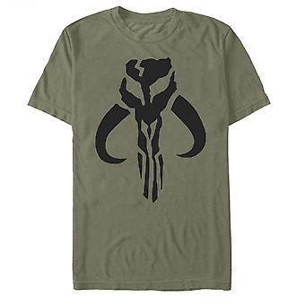 The Mandalorian Logo Army Green T-Shirt