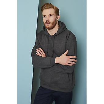 SIMON JERSEY Men's Workwear Hoodie, Charcoal