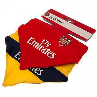 Arsenal FC Baby Unisex Bibs (Pack Of 2)