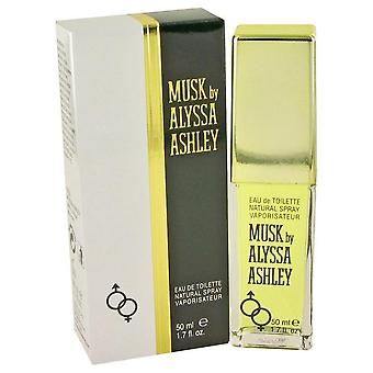 Alyssa ashley musk eau de toilette spray by houbigant 420674 50 ml