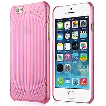 Para iPhone 6S,6 Case, Modern Baseus Shell Pattern Shielding Cover,Magenta