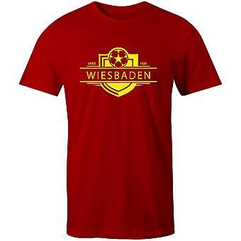 Wiesbaden 1926 Stabilito Distintivo Distintivo Calcio T-Shirt