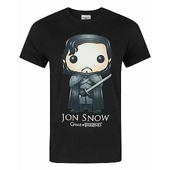 Game Of Thrones Funko Jon Snow Men-apos;s T-Shirt
