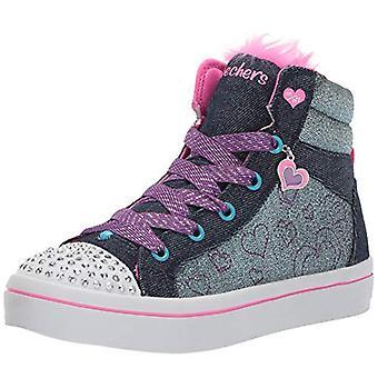 Skechers Kids' TWI-Lites-Fashion Flip Sneaker