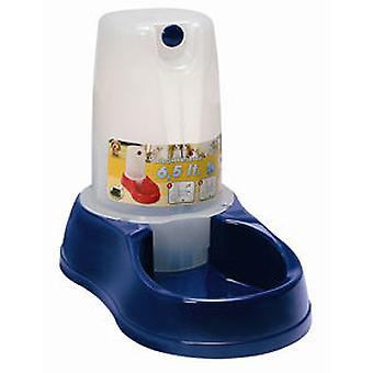 Arppe Drinker Plastic hopper 1,5 L (honden, kommen, Feeders & Water Dispensers)