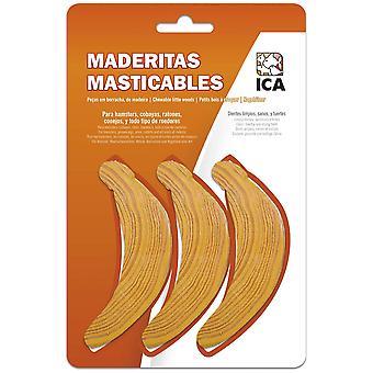Ica Maderitas Bananas for Rodents (Small pets , Treats)