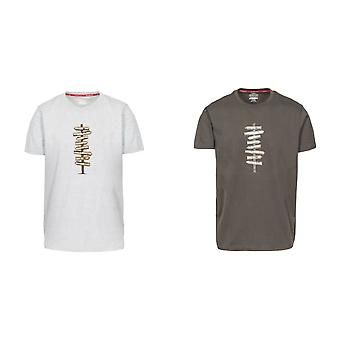 Hausfriedensbruch Mens Mapping T-Shirt