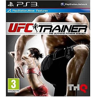 UFC Personal Trainer with BELT (Move) PS3 Game