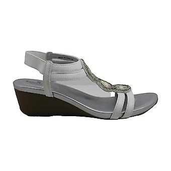 Bandolino Womens harman Peep Toe Casual Ankle Strap Sandals