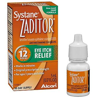 Akorn ketotifen fumarate ophthalmic solution, 5 ml