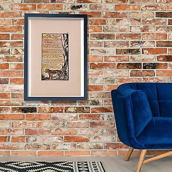 William Blake - The Tyger Poster Print Giclee